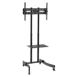 "Pedestal - Rack  TV  37"" a 70"" Inclinable - Compacto - Ruedas SBRR0.5"