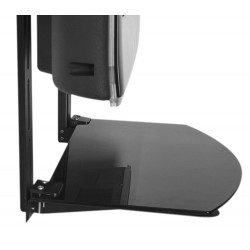 Soporte Deco-Juegos- 10kg - TV, Pared o Tabique - Vidrio/Acero
